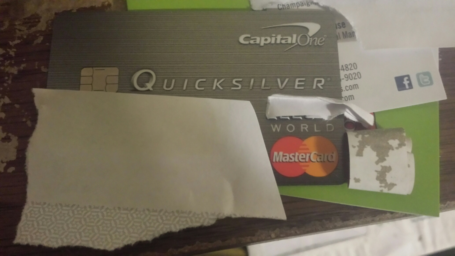 Just got my EMV Chip Quicksilver card Page 6 myFICO