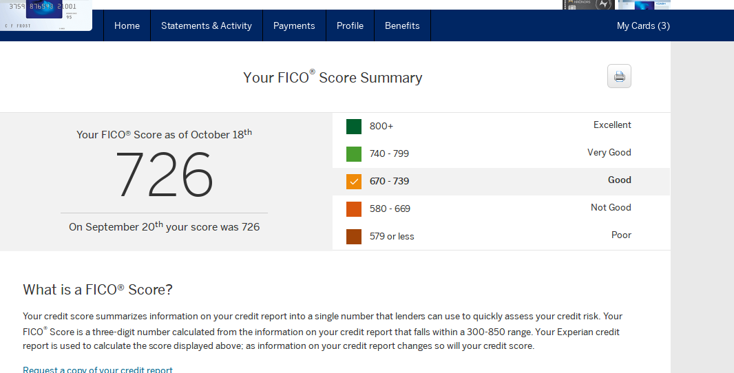 Amex offers free Experian CS myFICO Forums