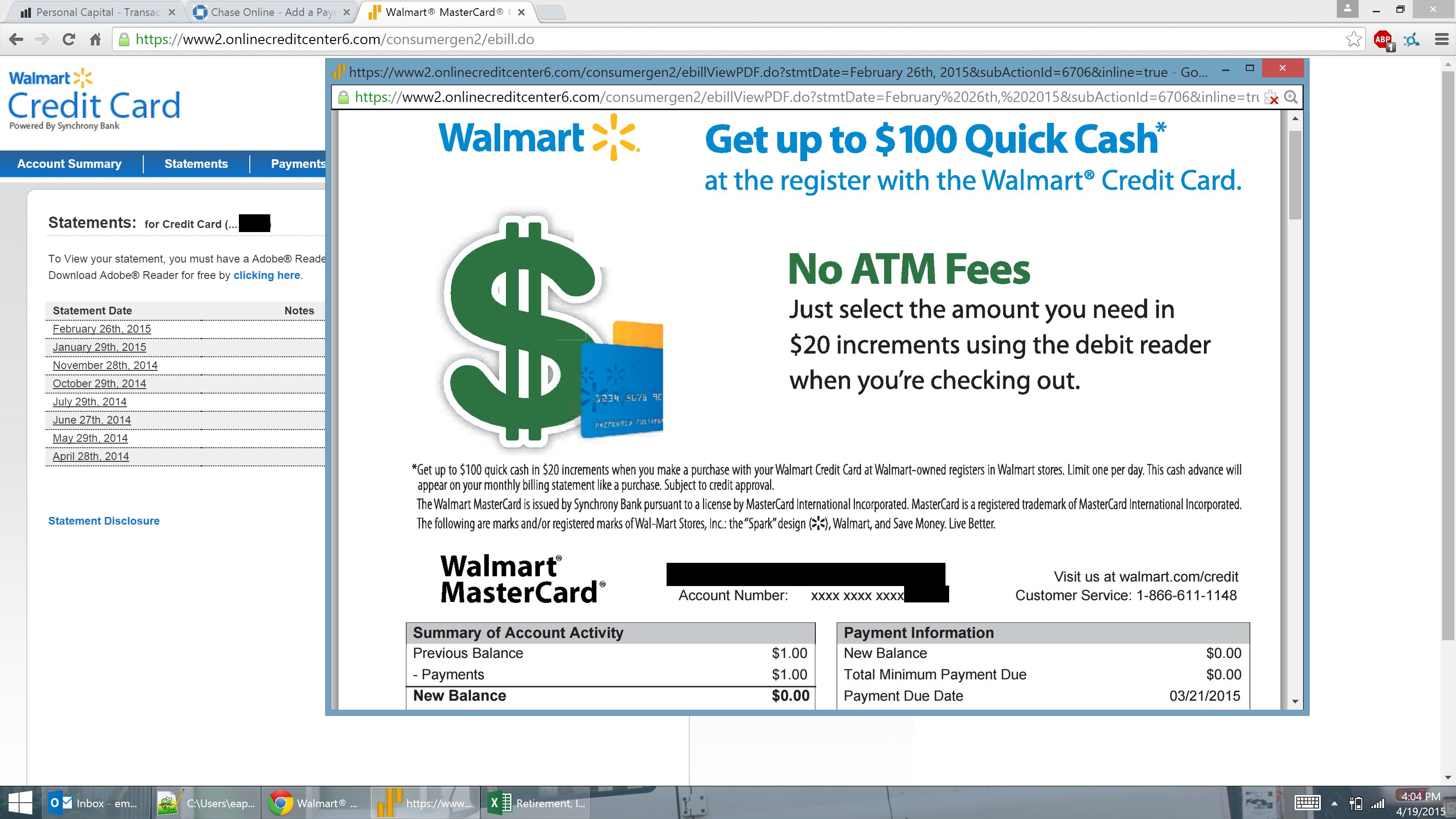 how to get a walmart credit card