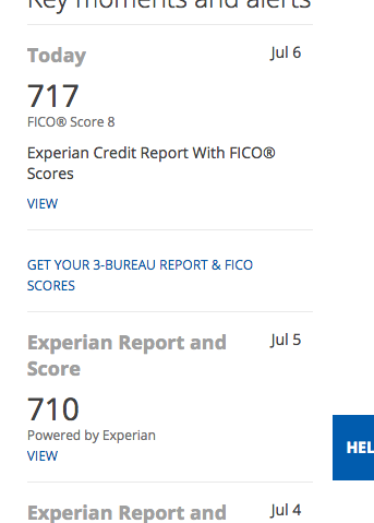 Experian fico score coupon