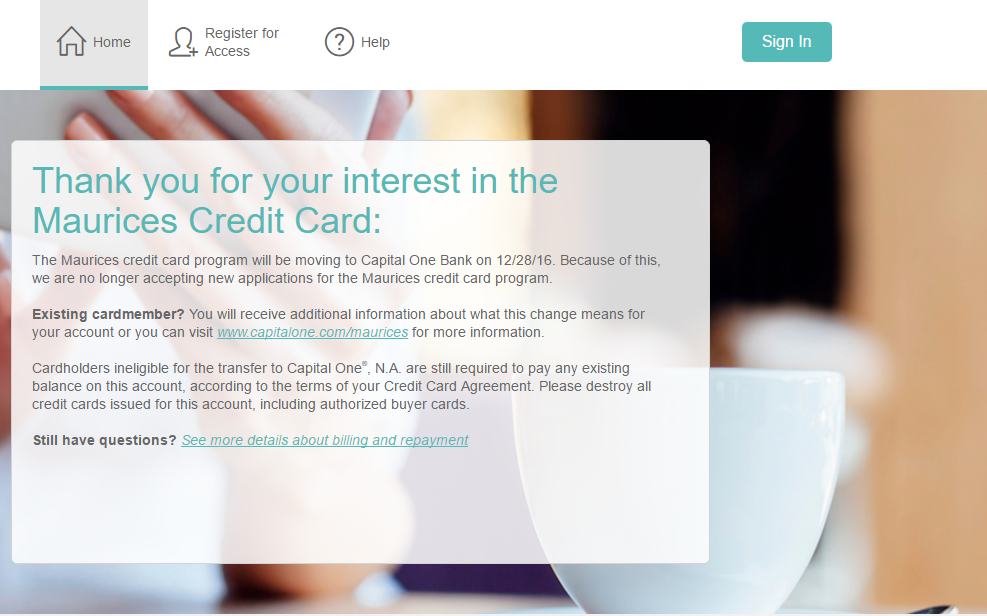 maurices credit card manage your accountpng