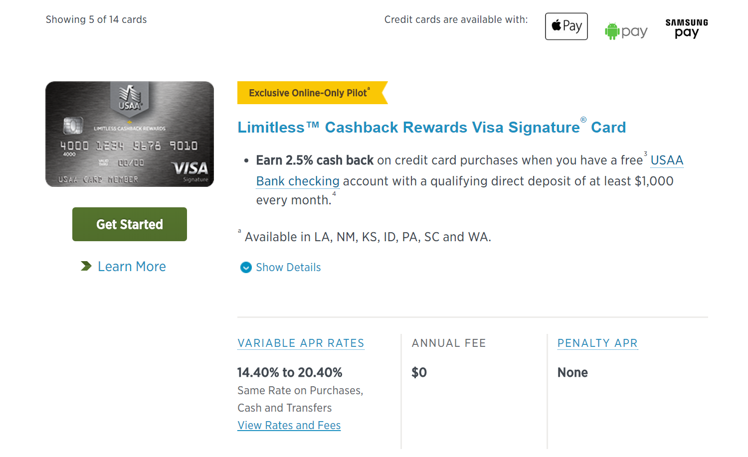 Usaa 25% Targeted Offer [update March 2017]  Page 6  Myfico� Forums   4761334