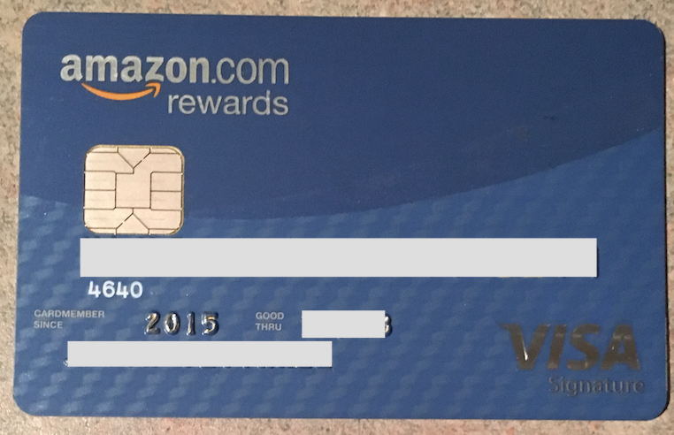 how to change my amazon credit card