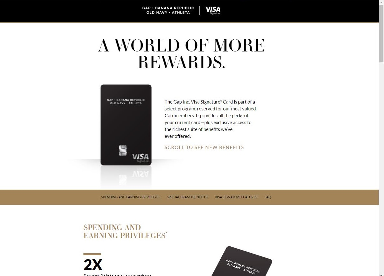 The Banana Republic Visa Credit Card is much like the Banana Republic Card, and the Banana Republic Luxe Credit Card, but it can be used anywhere Visa is accepted.. You'll earn the most points for shopping at the Banana Republic and it's affiliate brands, but you'll also accumulate rewards for general shopping.