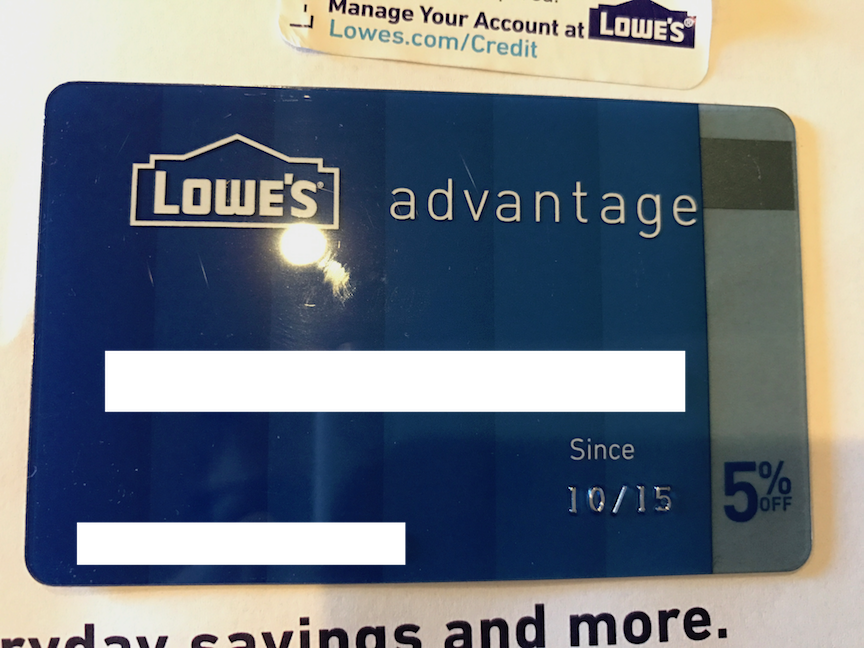 Lowes Advantage Credit Card - Page 2 - myFICO® Forums - 4936814