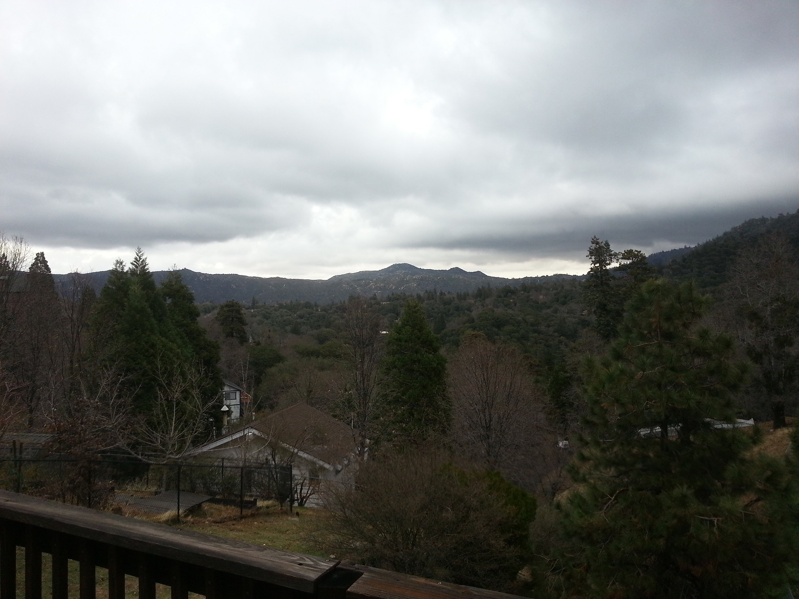 View from my new deck!