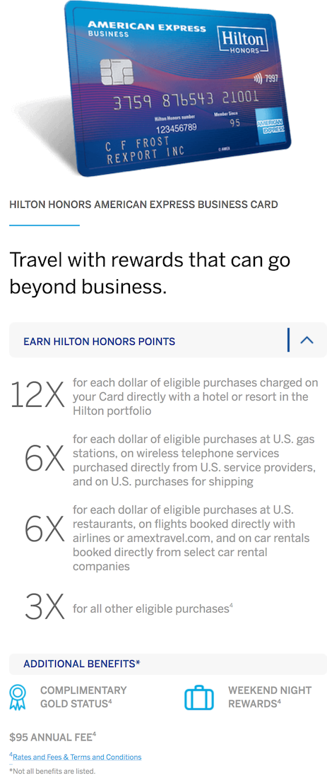 Two new Amex Hilton Cards along with Citi official... - myFICO ...