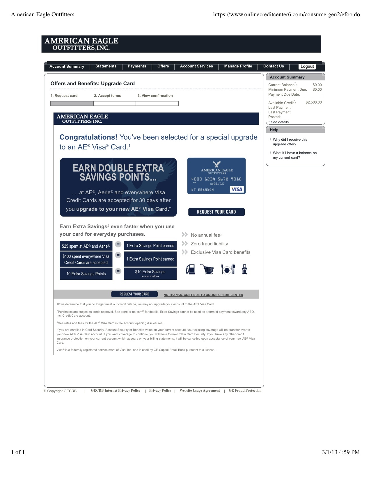 American Eagle Outfitters Visa Upgrade1.jpg
