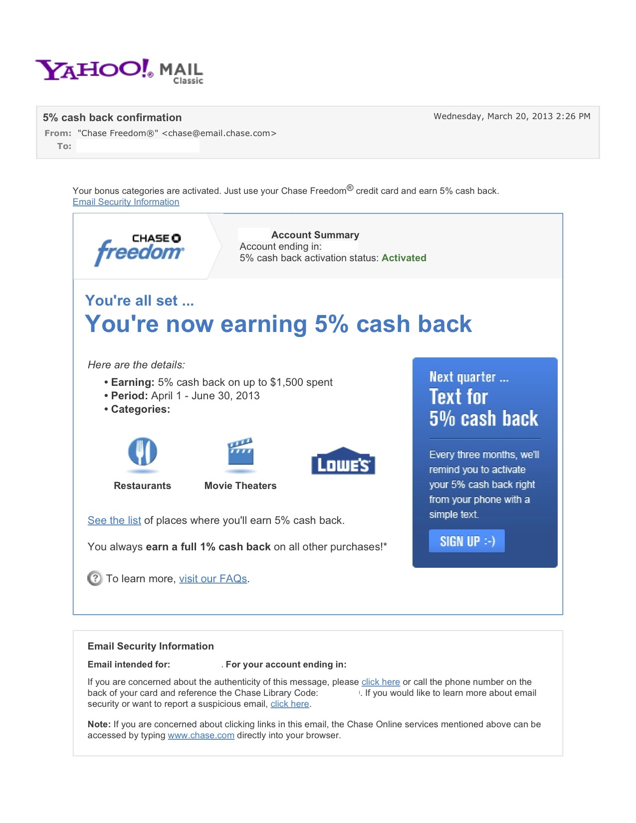 5% cash back confirmation - Yahoo! Mail.jpg