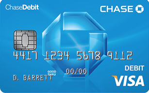 Chase Debit Card with EMV Chip!!!