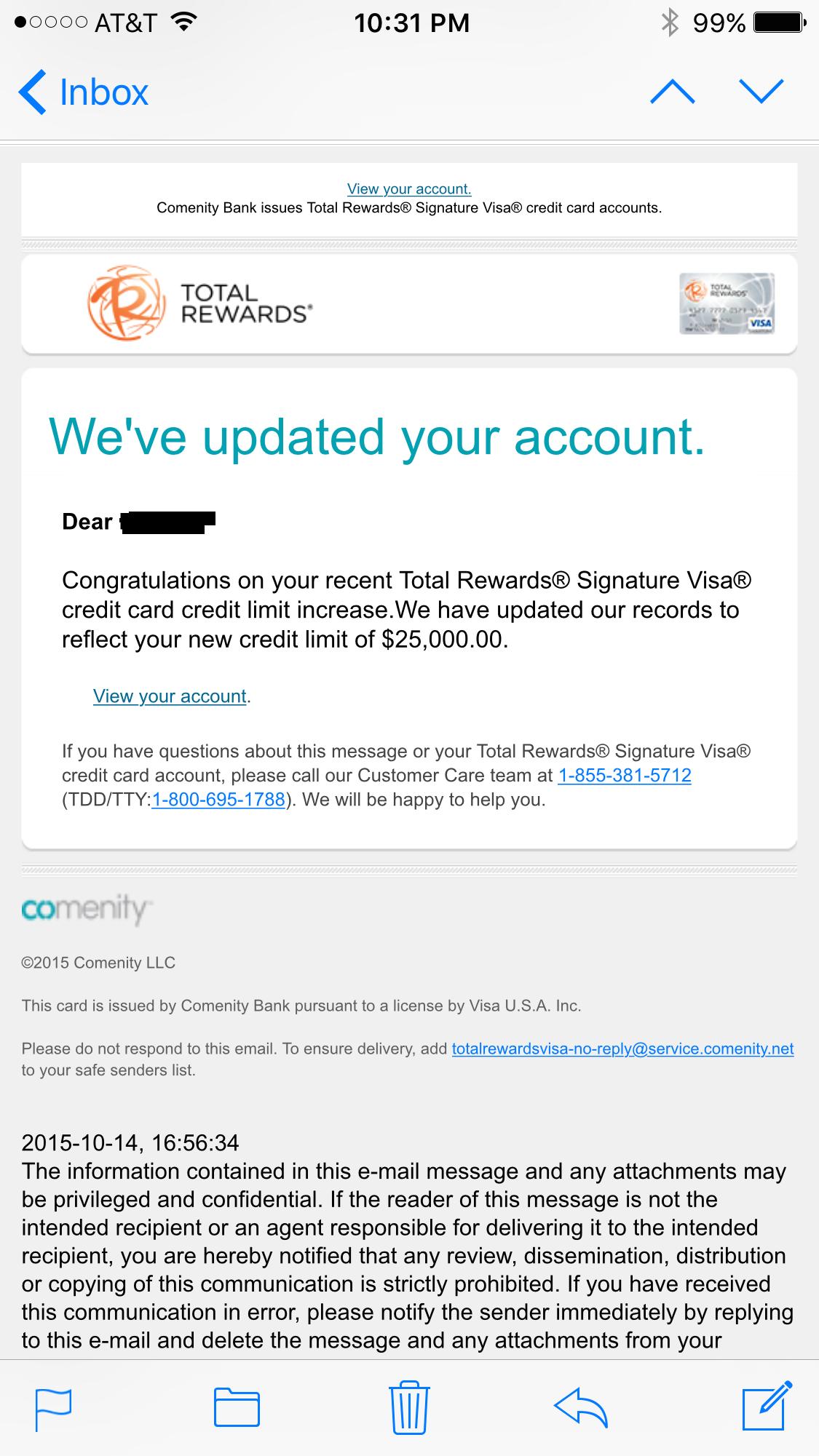 Comenity Bank- Total Rewards Visa Signature - myFICO® Forums - 8
