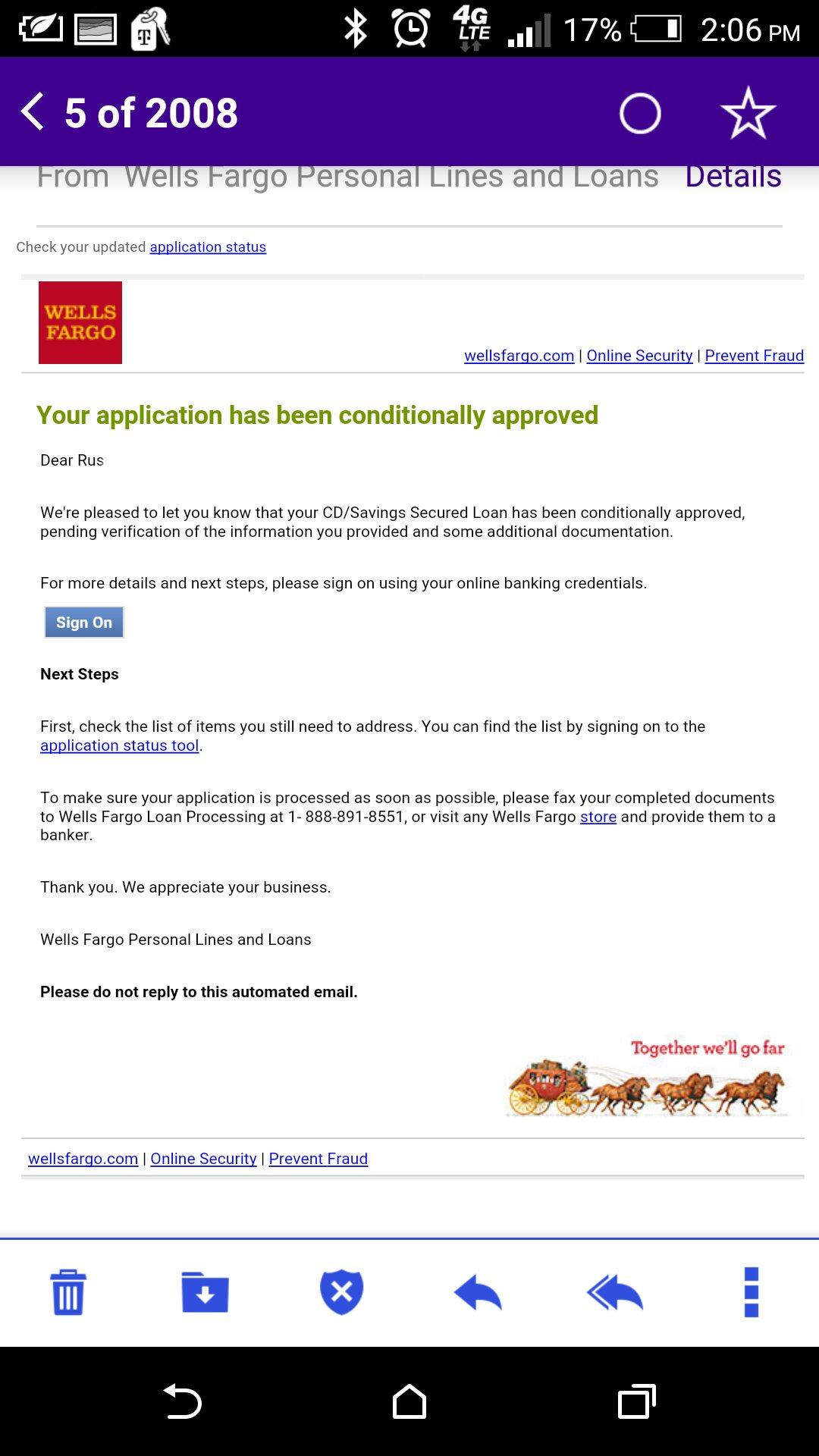Wells Fargo Secured Cd Personal Loan Myfico Forums 4534354