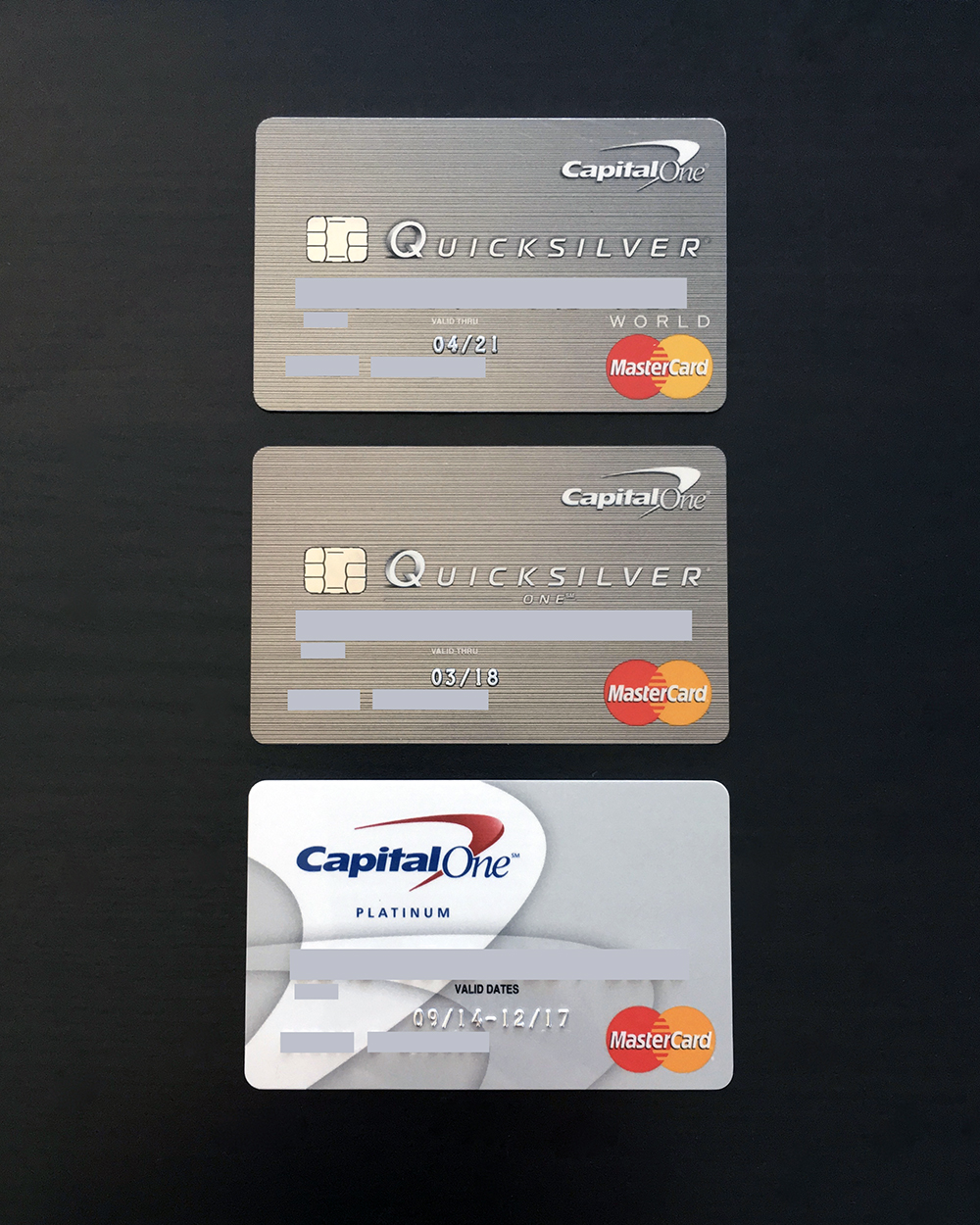 Capital One Progress; From Platinum to World - myFICO® Forums