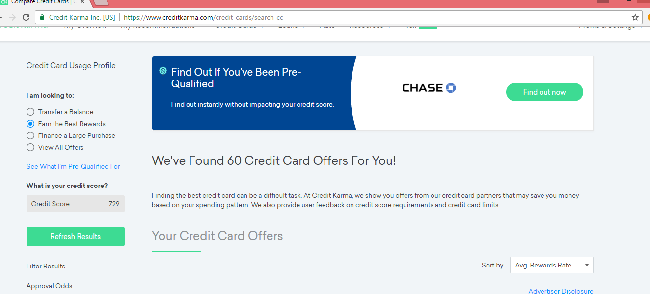 Pre Qualify On Creditkarma While Under 21 Myfico Forums 4907603