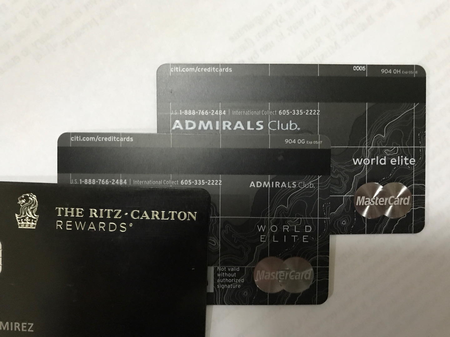 Citi AA Executive metal UPDATED with weight. - myFICO® Forums