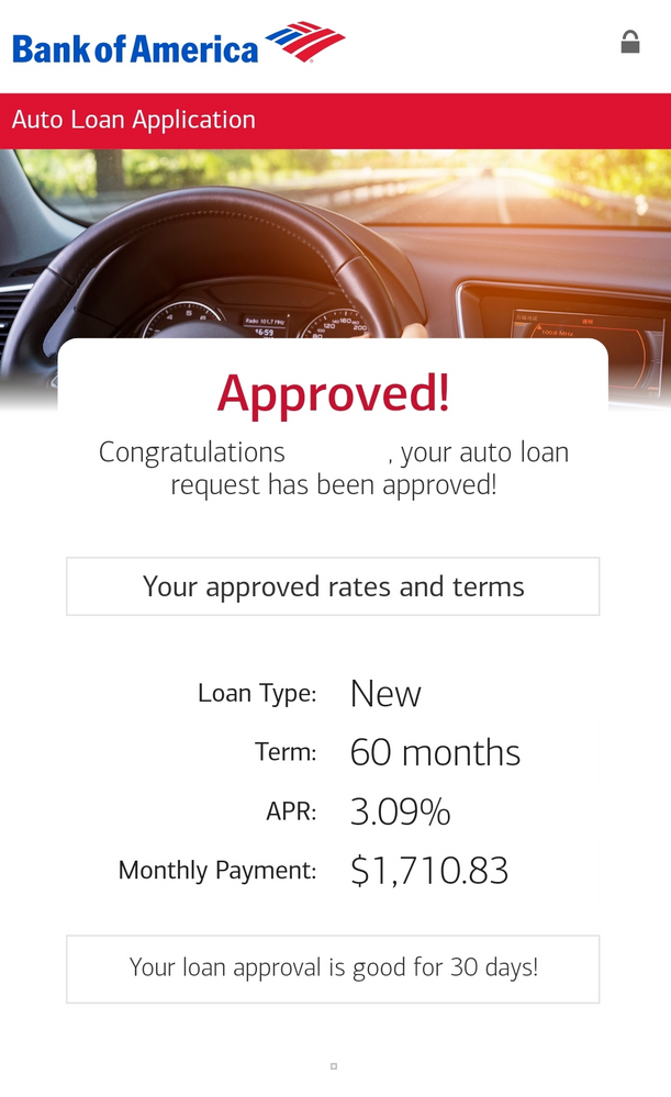 Bank Of America 2019 Porsche Turbo Loan Approve Myfico Forums 5353638