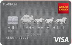 Wells Fargo Platinum Visa $3000