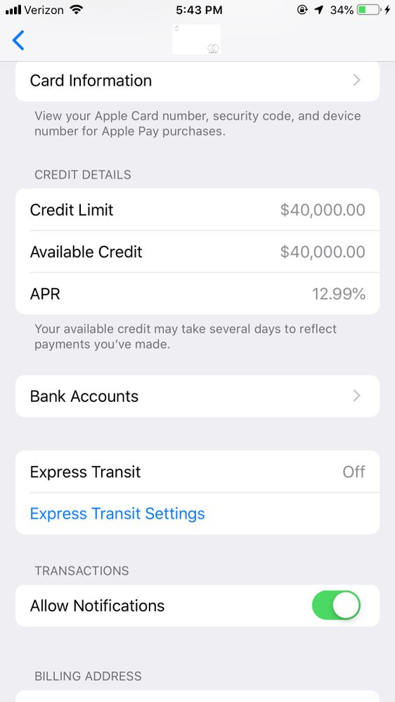 Apple Card Approval 13k limit at 13.13 APR - myFICO® Forums - 13