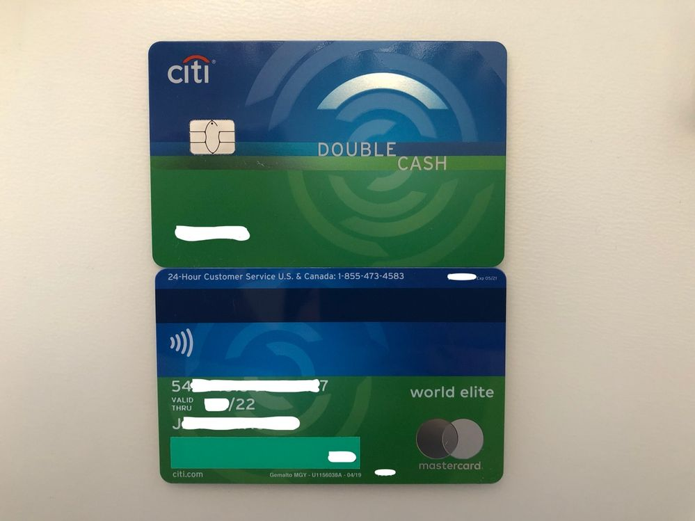 Citi Double Cash DC Contactless Card - myFICO® Forums - 8