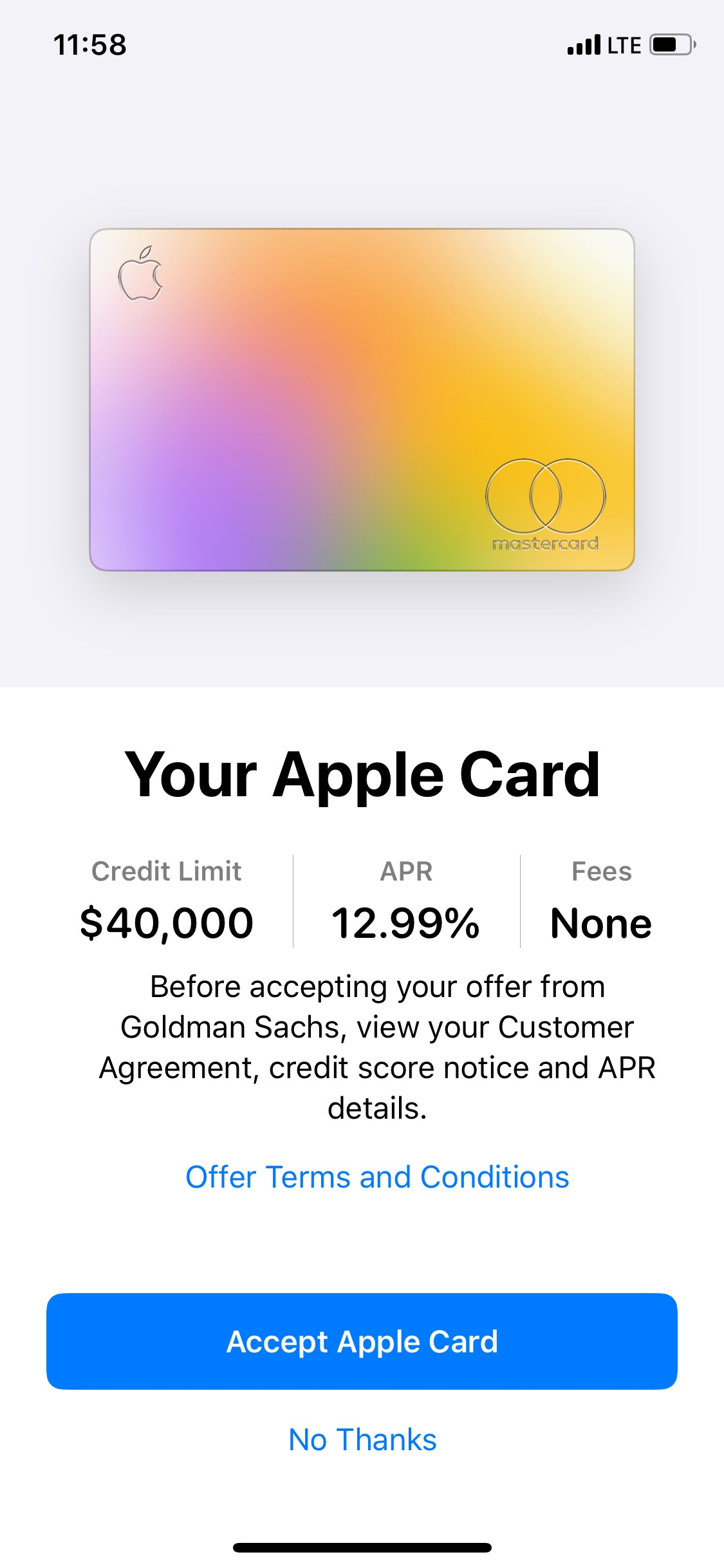 Apple Card ApplicationApproved - Page 10 - myFICO® Forums - 571010641