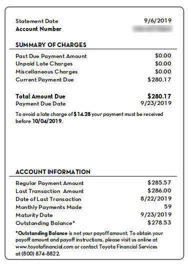 Final Toyota Financial Payment Myfico Forums 5736981