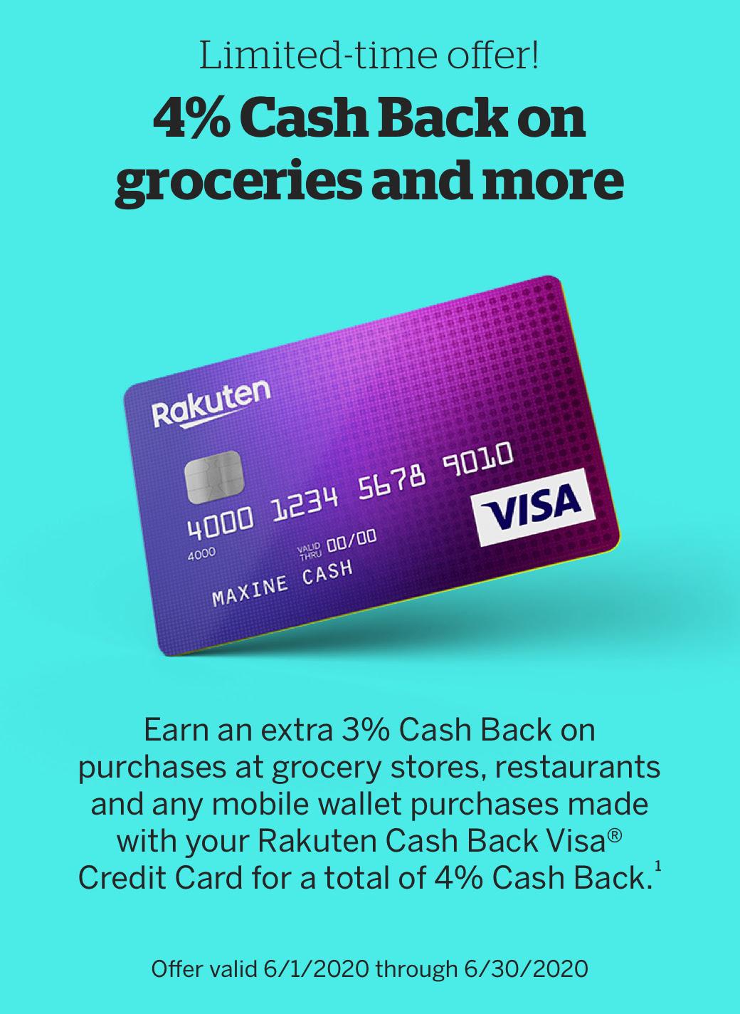 Rakuten Visa Card 12 or 12x MR back on Mobile Wal...   myFICO ...