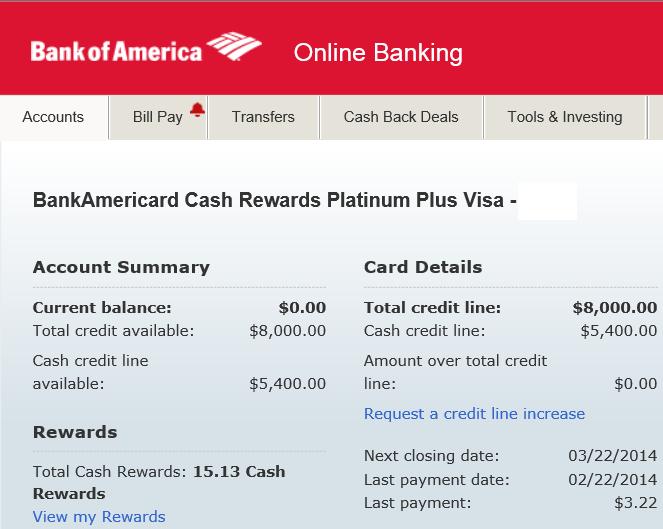 Graduated: Bank of America Cash Rewards BankAmeric - Page 9