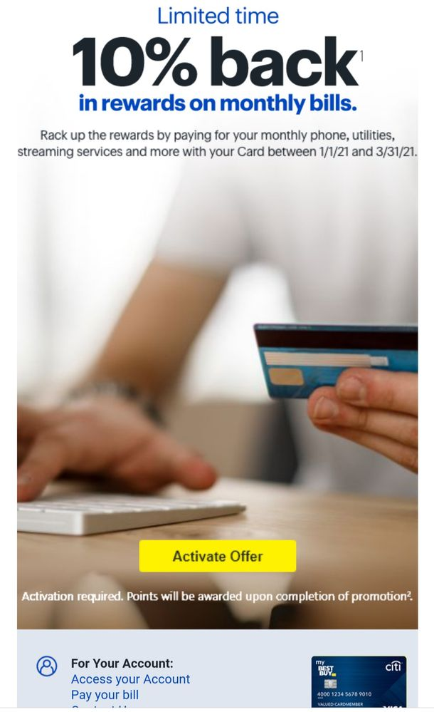 Best Buy Limited 10 Offer On Utilities Myfico Forums 6218605