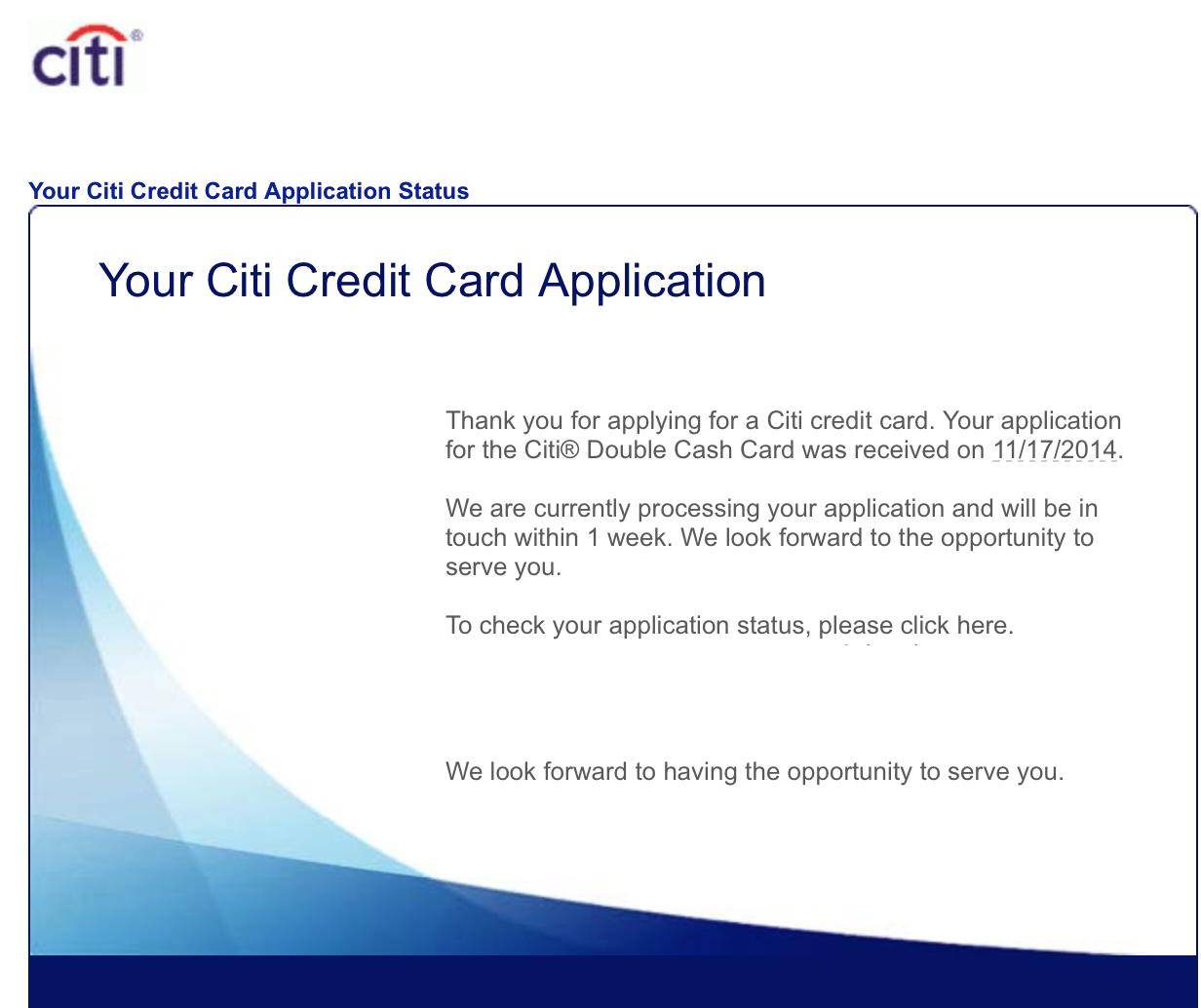 Thinking Of Applying Citi Double Cash