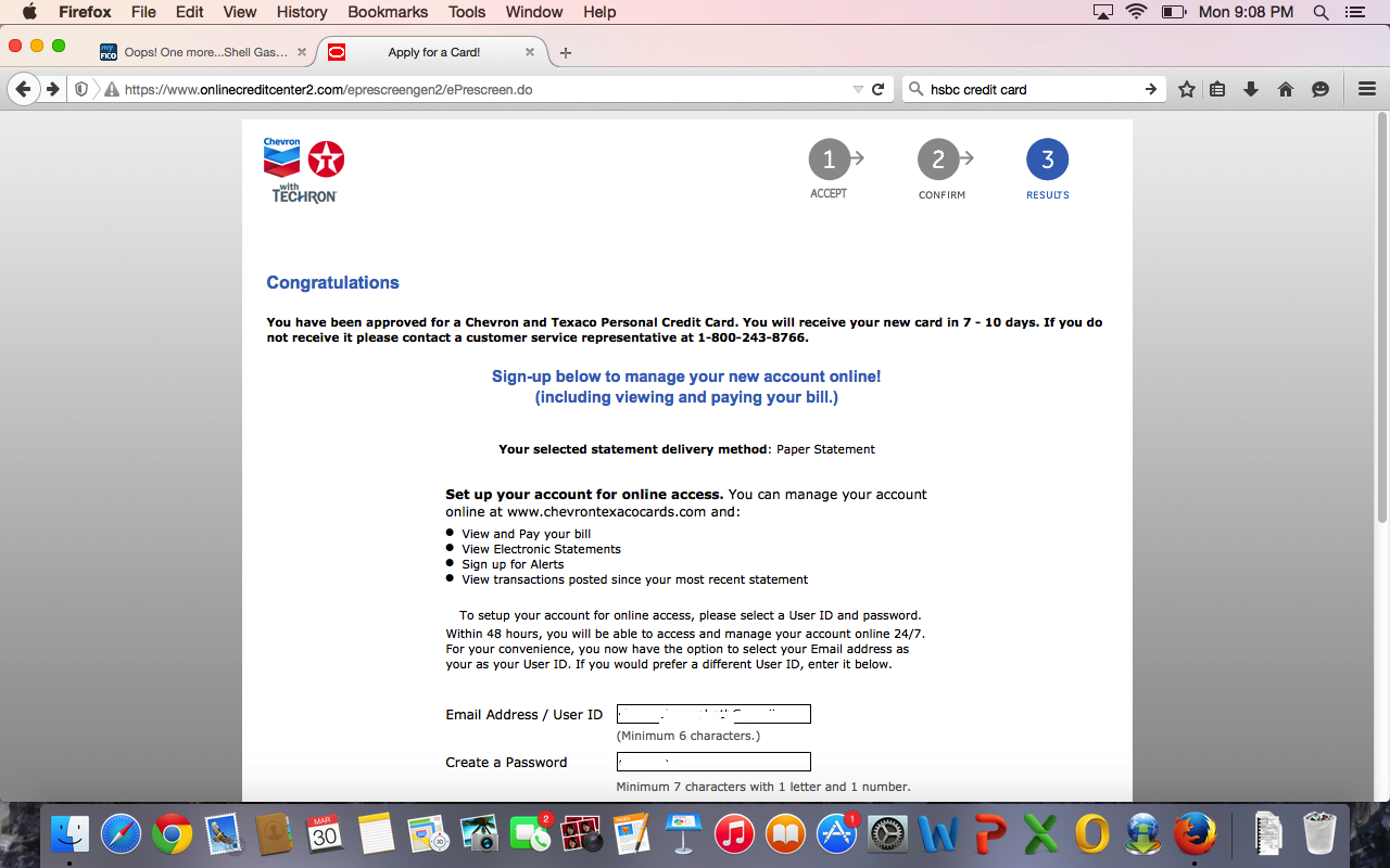 Chevron Texaco Credit Card >> Chevron Texaco Approved Myfico Forums 3898644