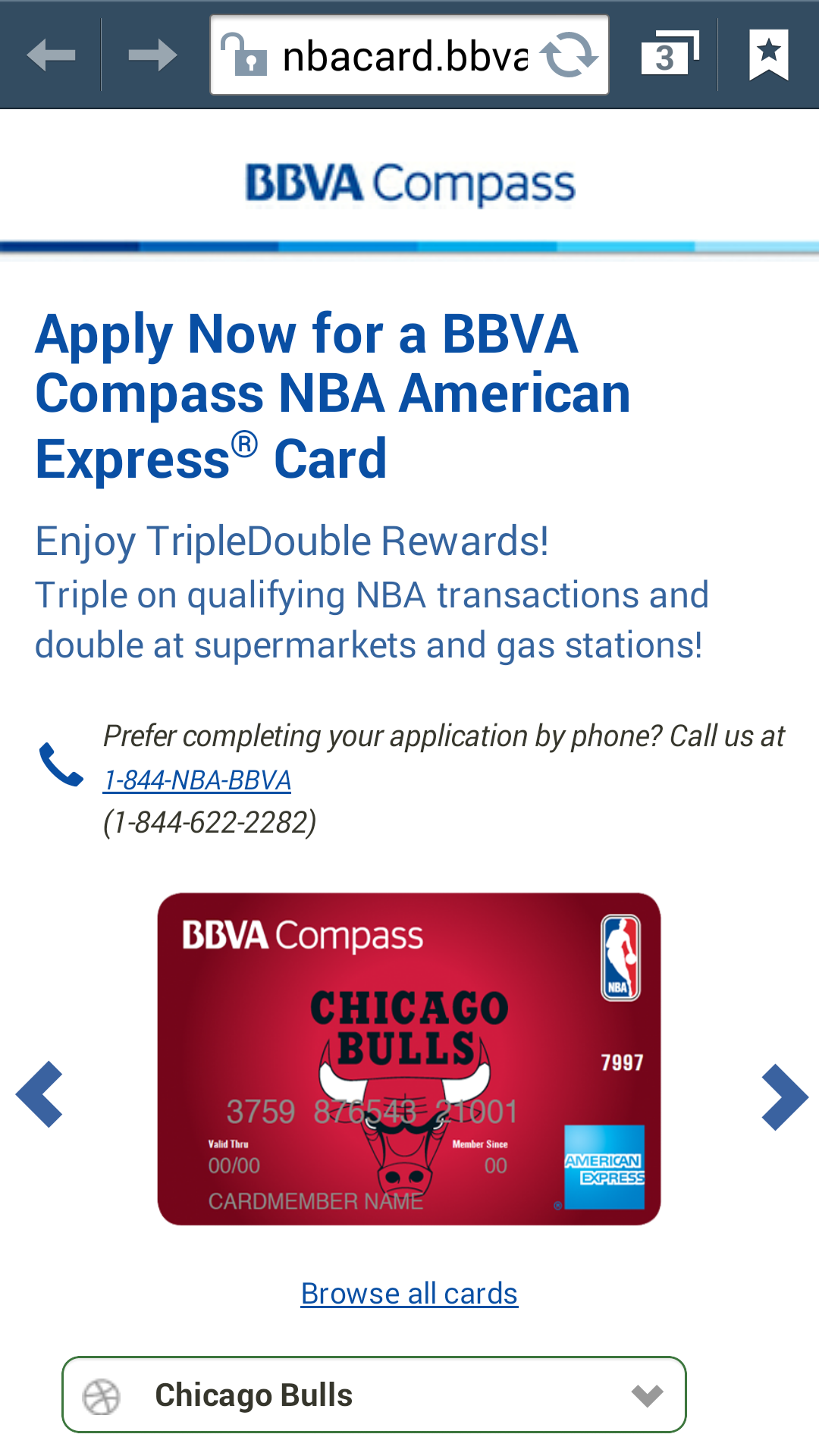 approved for the bbva compass bank nba amex recon myfico