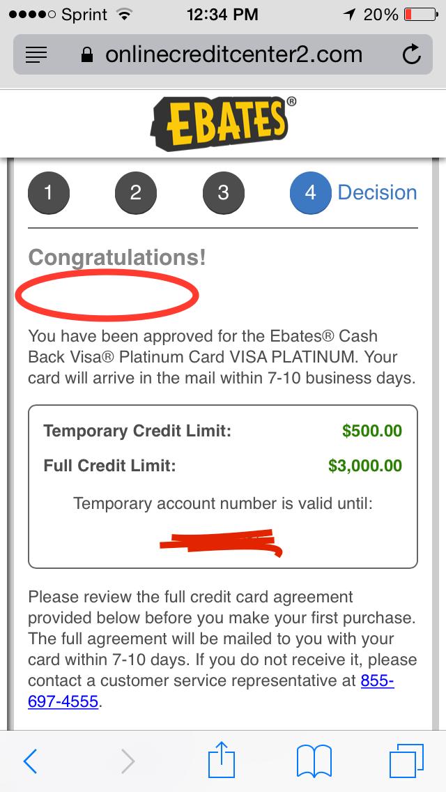 how to cancel td credit card visa transaction