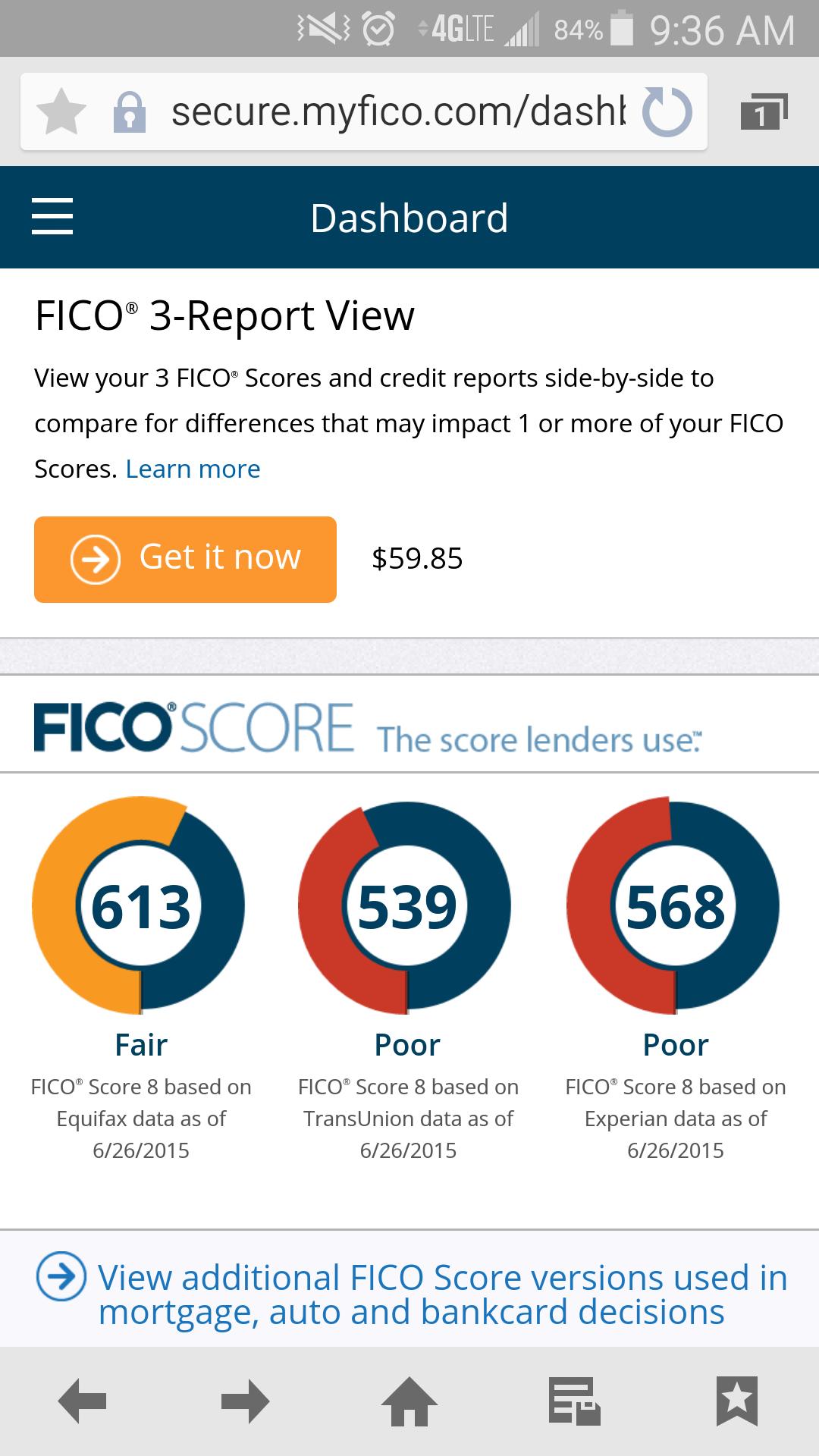 How do i check my fico score on credit karma