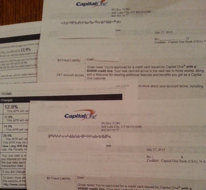 Capital One Approval $100,000 :-)