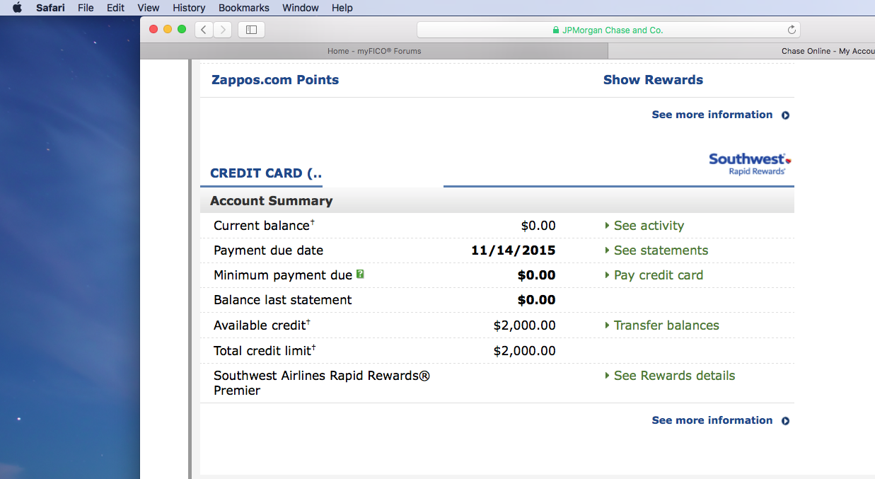 re approved chase southwest airlines rapid rewards premier visa - Southwest Airlines Visa Card