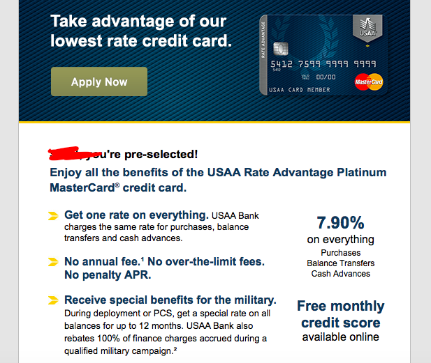 Usaa Auto Loan >> USAA Pre-approval $200 statement credit... Is it w ...