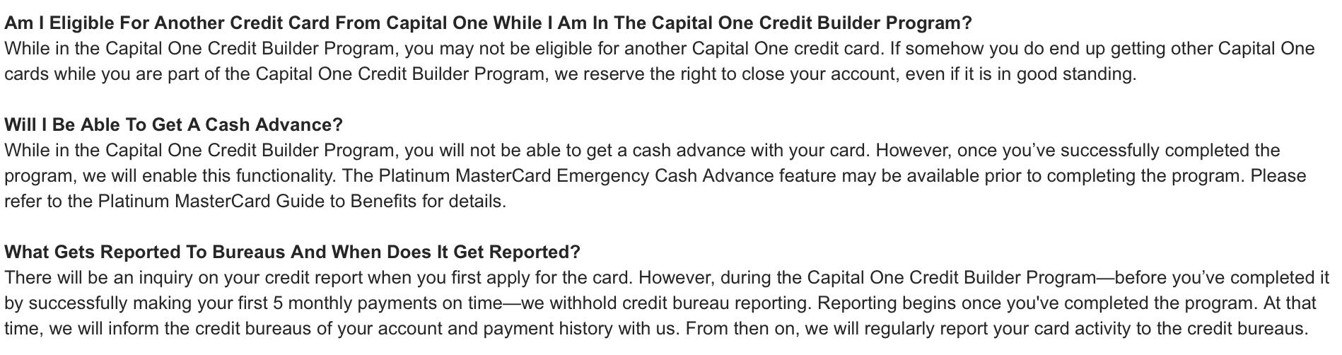 capital one builder program credit card myfico forums 4359136. Black Bedroom Furniture Sets. Home Design Ideas