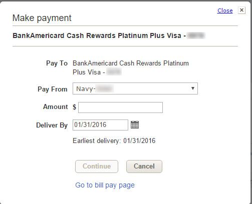 Help How To Pay My Dcu Visa Card From Outside Ba