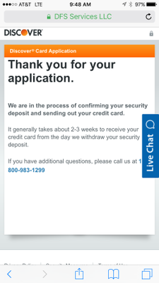 Approved Discover It Secured Myfico Forums 4437146