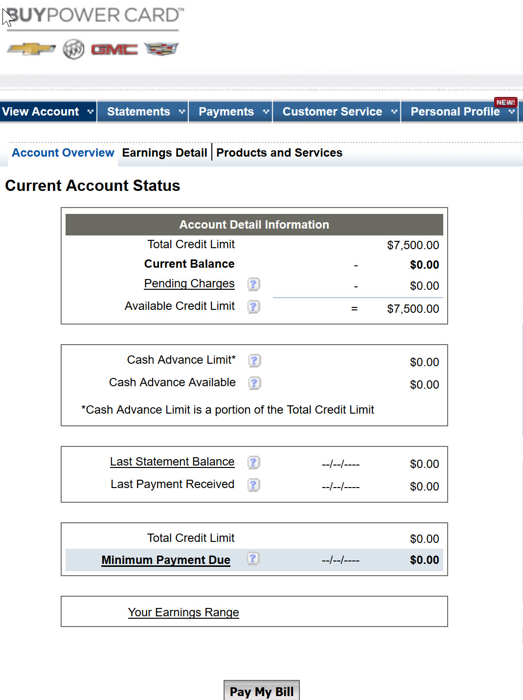 Capital One GM BuyPower Approval - myFICO® Forums - 4571919