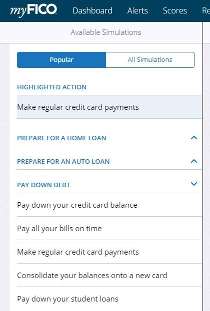 help student loan simulator myfico forums 4589657