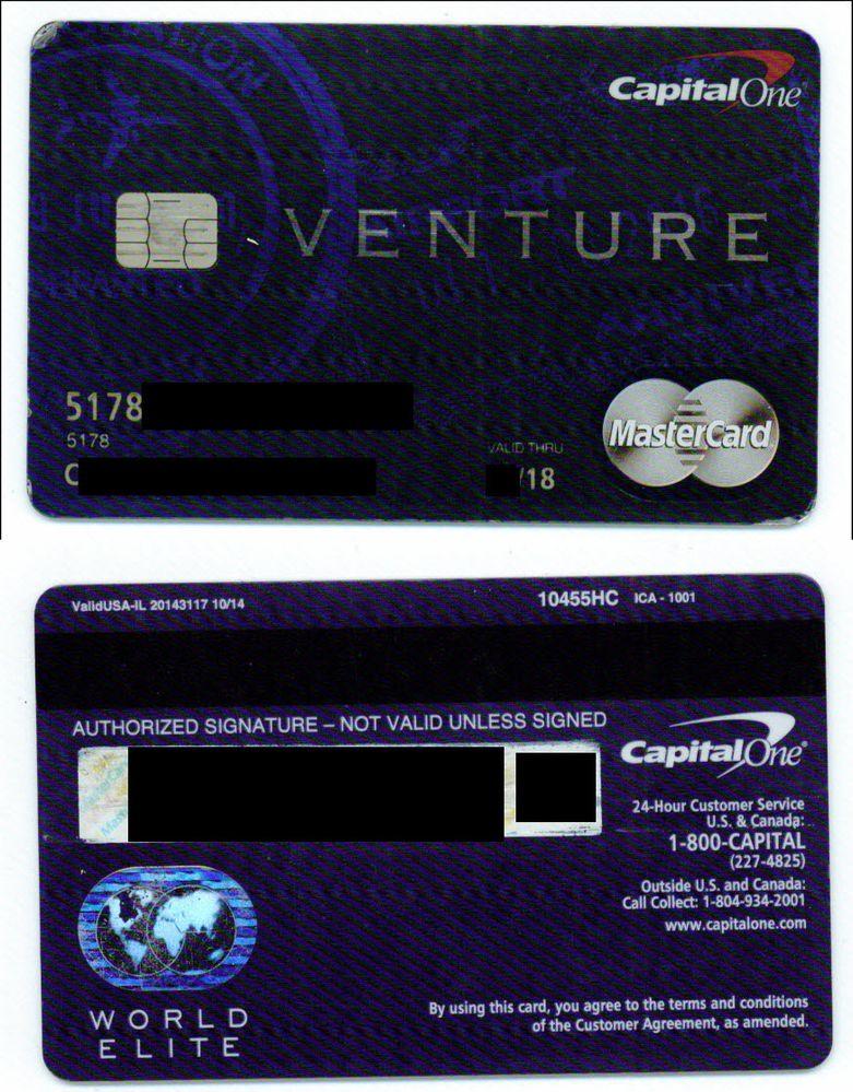 Anyone else have a World MasterCard or WEMC VENTUR