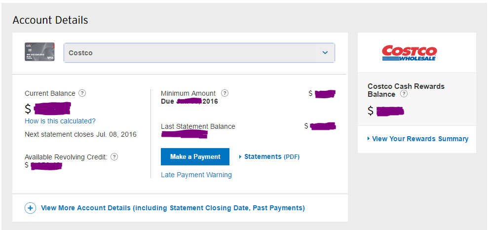 Citicards Account Online >> Yes Citi Costco Visa Can Be Added To Your Existin