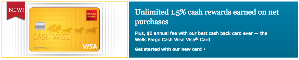 Another 1 5 Cash Back Card From Wells Fargo Myfico