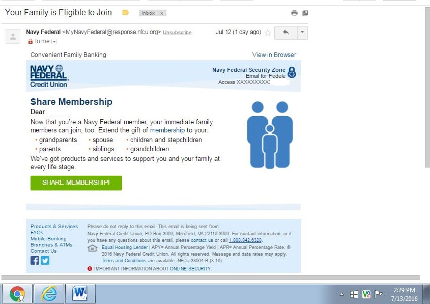 navy federal membership application status Navy Federal - myFICO® Forums - 4677614