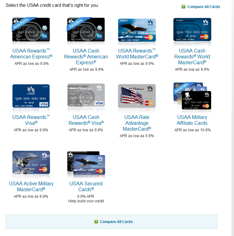 Usaa Auto Loans >> usaa partial members not eligible for credit cards ...