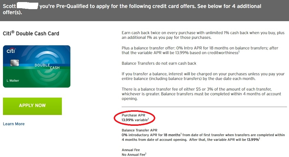 Citi Credit Card Pre Qualify >> Citi Double Cash Pre Qual Question Myfico Forums 4881251