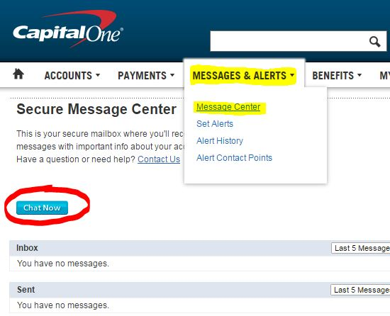 Contact Capital One >> Capital One Chat Button Myfico Forums 4889227