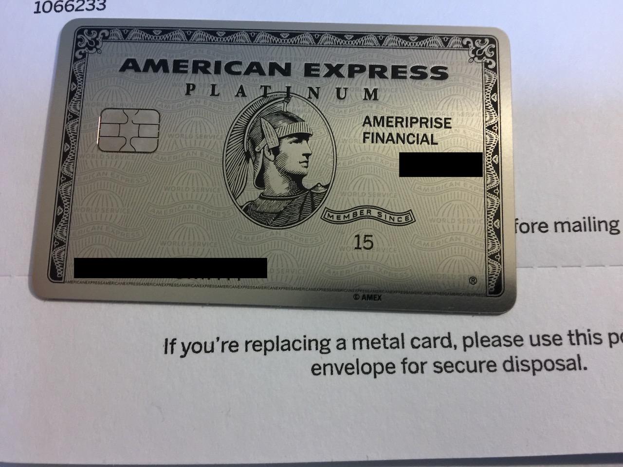 Amex Platinum Metal Card - myFICO® Forums - 4905766