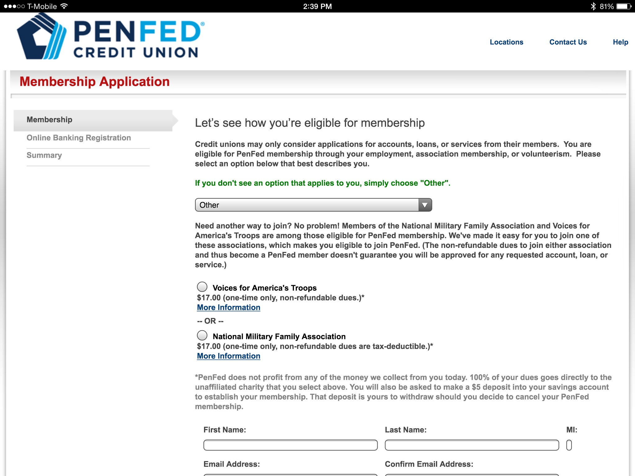 Pen Fed Credit Union >> Joining Penfed Myfico Forums 4920554